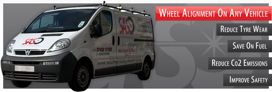 Laser Wheel Alignment On Any Vehicle!
